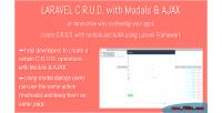C.r.u.d. laravel ajax modals with