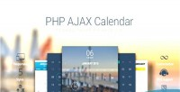 Calendar ajax flexible script calendar php