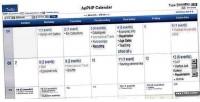 Calendar apphp