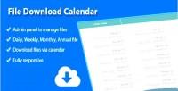 Download file calendar