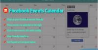 Events facebook calendar