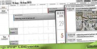 Lbevents php calendar events ajax