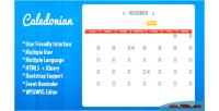 Php caledonian event calendar