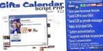 Php script gift home facebook calendar