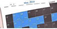 Php smooth calendar reloaded