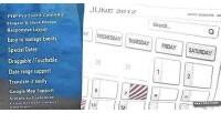 Pro php event calendar