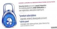 Registration login membership premium with