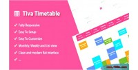 Timetable tiva for php