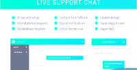 Chat support chat live php