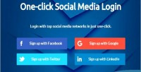 Click social login in x 3 codeigniter click