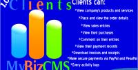 Clients mybizcms addon