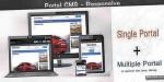 Cms portal php script