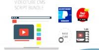Cms videotube script pack