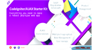 Codeigniter steller starter ajax with kit