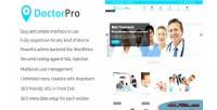 Complete doctorpro cms website medical