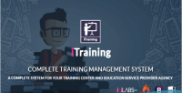 Complete itraining system management training