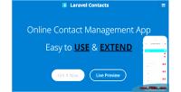 Contact laravel online app management contact