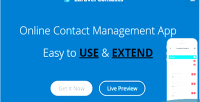 Contact laravel online app management contact