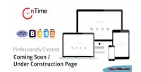 Coming ontime soon page construction under installer with page