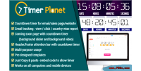 Timerplanet email website attention timer countdown bar
