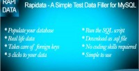 A rapidata simple data test mysql for filler