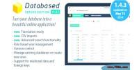 Application database platform