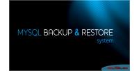 Backup mysql restore system