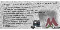 Class mega database 1.0 v mysql