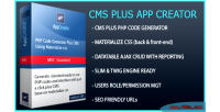Cms hezecom plus appcreator php css materialized with