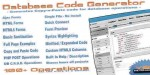 Code database generator