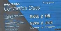 Conversion mysql class