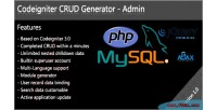 Crud codeigniter generator admin