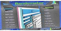 Database randomator stuffit generator