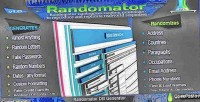 Database randomator stuffit generator