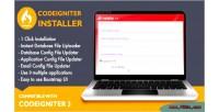 For installer codeigniter application