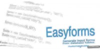 Generate easyforms db from forms