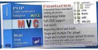 Mvc php code mysqli enterprise generator