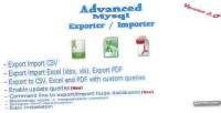 Mysql advanced exporter importer