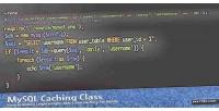 Mysql php caching class