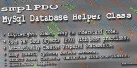 Mysql smplpdo class helper database