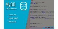 Your mydb database file flat