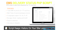 Delivery ems script php status