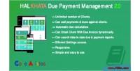 Due halkhata payment management