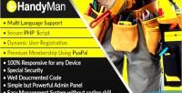 Dynamic myhandyman handyman syestem management script directory and