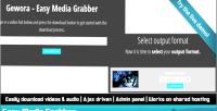 Easy media grabber the downloader media ultimate