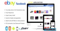Ebay facebook store application