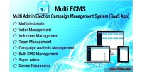 Election ecms campaign system management app saas
