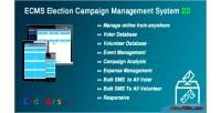 Election ecms system management campaign