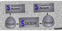 Escrow paypal payment system