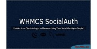 For socialauth whmcs